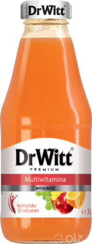 [14103]DrWitt 0.3l Yellow Multivitamin juice