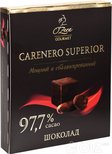 "[23454] Шок ""O'Zera"" 90г Carenero 97.7% 1/6 (686)"
