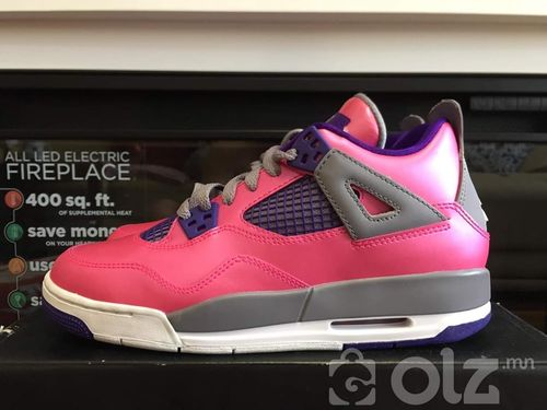 Air Jordan IV Retro Girls Pink