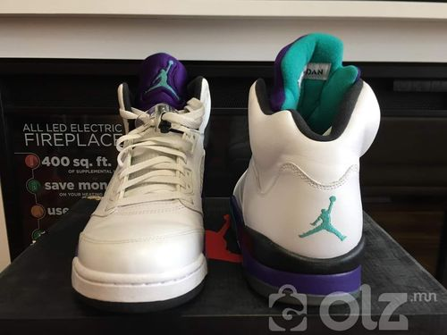 Air Jordan V Retro Grape