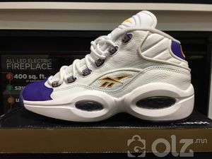 REEBOK QUESTION MID WHITE PURPLE