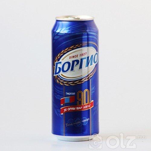 Боргио 0,5л лаазтай