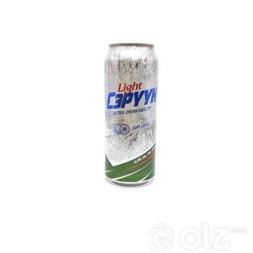 Сэрүүн super Light 0.5l лаазтай