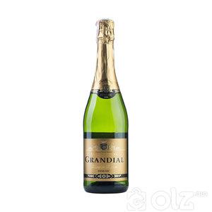 SPARKLING WINE / FRANCE- GRANDIAL- Brut, Brut Rose, Demi-Sec