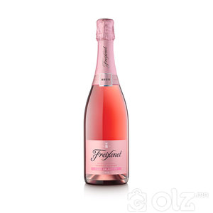 FREIXENET CAVA/ SPAIN - Cordon Rosado Semi - Carta Neveda Demi