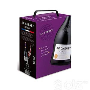 J.P CHENET / FRANCE - Colombard Chardonnay 3l - Grenache-Cinsault 3l - Cabernet- Syrah 3l - Merlot3l