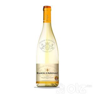 BARON D'ARIGNAC/ FRANCE - Moelleux Blanc Medium sweet - Moelleux Rouge Medium sweet