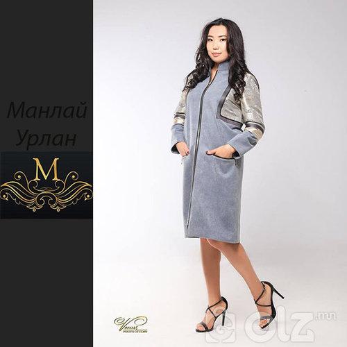 044 гоёлын элгэн материалтай пальто