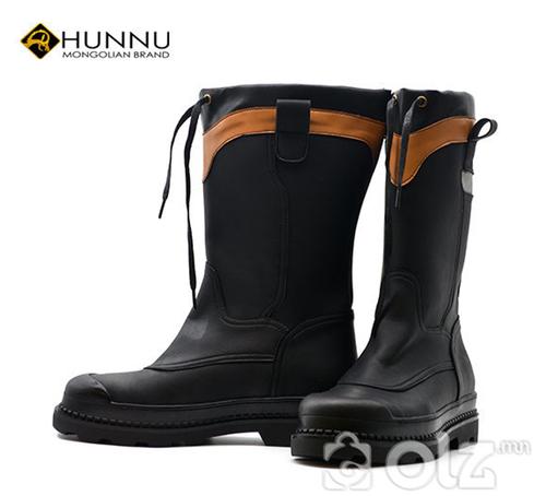 Төмрөн хамгаалалттай цэвэр арьсан safety гутал
