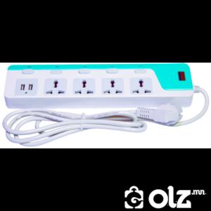 USB залгууртай уртасгагч