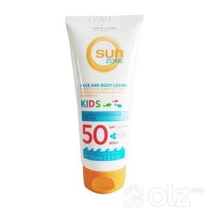 Хүүхдийн нарны тос