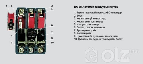 Автомат таслуур ВА88