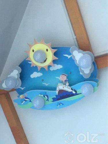 Хүүхдийн өрөөний гэрэл