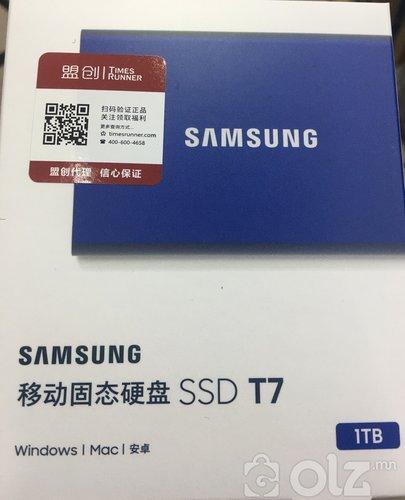 Самсунг Т7 SSD зөөврийн хард