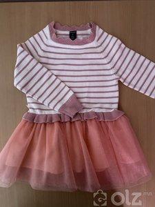 Охидын ноосон платье